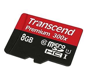 トランセンド・ジャパン 8GB MicroSDHC10 U1 TS8GUSDCU1