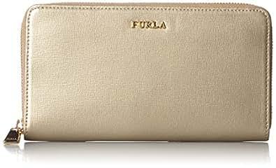 [フルラ] Furla 長財布ラウンドジップ バビロン PN08 CGD00798087 (ゴールド)