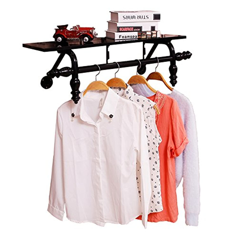 衣料品棚、子供服屋壁掛け棚、衣料品店のディスプレイラックの壁掛けラックを販売する ( サイズ さいず : 120*30cm )