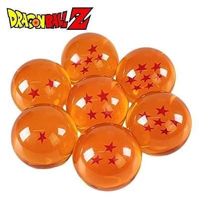 ドラゴンボール グッズ 7つ 7個 セット 球 玉 おもちゃ 飾り オブジェ [並行輸入品]