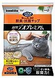 ニャンとも清潔トイレ 猫砂 脱臭・抗菌チップ デオプレミアム 大きめの粒4.4L
