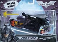 New Mattel DC Dark Knight Batman Fire Cycle Vehicle - SWEET