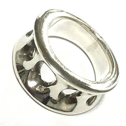 バリ島 シルバーリング シルバー 925 銀製 チュルクシルバー デザインリング 指輪 エスニック ジュエリー 3syaku ( サンシャク ) 【 SV RNOM_04】