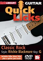 Guitar Quick Licks-Ritchie Blackmore Style Key of [DVD] [Import]