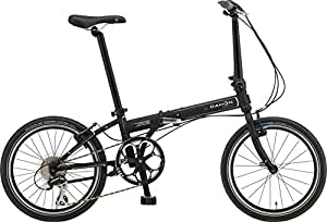 DAHON(ダホン) 折りたたみ自転車 Speed(スピード) D8 20インチ 2016年モデル 外装8段変速 クロモリフレーム Matt Black KAC083
