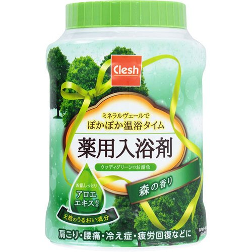 Clesh(クレシュ) 薬用入浴剤 森の香り 680g 日用品 入浴剤・温浴器 入浴剤 [並行輸入品]