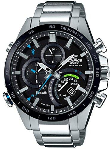[カシオ]CASIO 腕時計 エディフィス TIME TRAVELLER スマートフォンリンクモデル EQB-501XDB-1AJF メンズ