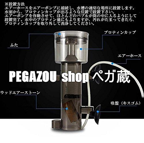 PEGAZOU(ペガ蔵) 水槽用 プロティンスキマー 海水魚飼育用 水質改善 装置