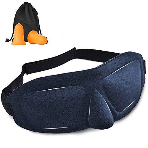 アイマスク 安眠 AYO 最新版 睡眠3D 立体型 軽量 遮光性 圧迫感なし究極の柔らかシルク質感 ...