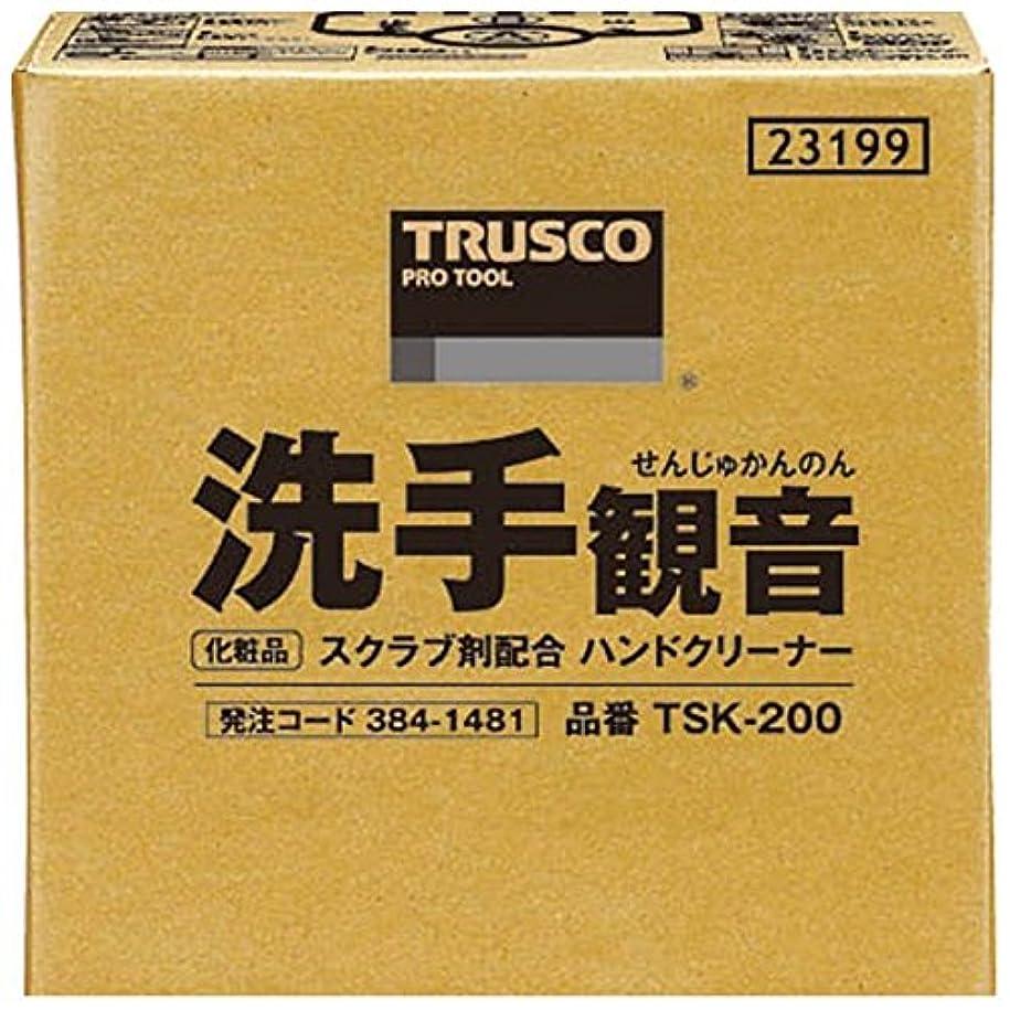 説得リフレッシュリビングルームTRUSCO 洗手観音 20kg バックインボックス TSK-200