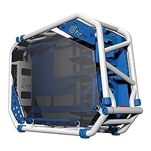 IN WIN D-FRAME 2.0 White/Blue オープンフレーム PCケース/1065W 電源搭載