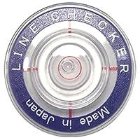 高精度&薄型水平器付ボールマーカー ラインチェッカーライト ターゲット付き (ブルー)