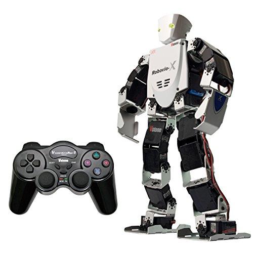 二足歩行ロボット Robovie-X (組み立てキット版) コントローラセッ...