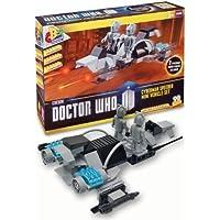 Doctor Who Character Building - Cyberman Speeder Mini Vehcle Set & 2 Cyberman Figures