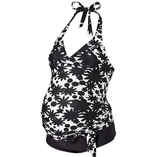 [해외]Ani Mam Kids 여성 큰 수영복 임산부 수영복 탄 키니 세련된 임산부 분리 모노톤 꽃 무늬 디자인 크기가 풍부 (M ~ 5XL)/Ani Mam Kids Women`s Swimwear Swimwear Maternity Swimwear Tankini Fashionable Pregnant Women`s Separate Monotone Flora...