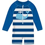 TUPOMAS Baby Girls Rash Guard Swimwear UPF 50+ One Piece Swimsuits Beach Surfing Suits Bathing Suits 6-36 Months