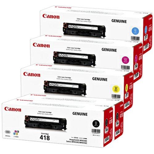 CANON 国内純正トナーカートリッジ418 CRG-418 4色5本セット(T)