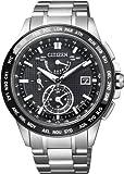 [シチズン]CITIZEN 腕時計 ATTESA アテッサ ダブルダイレクトフライト針表示式 サファイアガラスベゼルモデル Eco-Drive ワールドタイム電波 エコ・ドライブ ワールドタイム電波 AT9044-51E メンズ