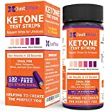 Ketone Keto Urine Test Strips. Look & Feel Fabulous on a Low Carb Ketogenic or HCG Diet. Get Your Body Back! Accurately Measure Your Fat Burning Ketosis Levels. (1 Bottle)