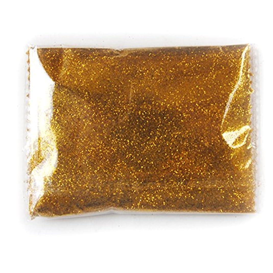 発明する連続した配当80g キラキラ アクリルカラーパウダー グリッター ラメパウダー ネイル レジン用 金色