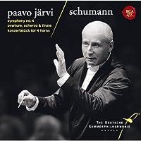 シューマン:交響曲第4番、序曲・スケルツォとフィナーレ&コンツェルトシュトゥック