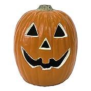 ハロウィン LEDパンプキンライト M 照明 【ジャック・オ・ランタン/装飾用/飾り/カボチャ/かぼちゃ】
