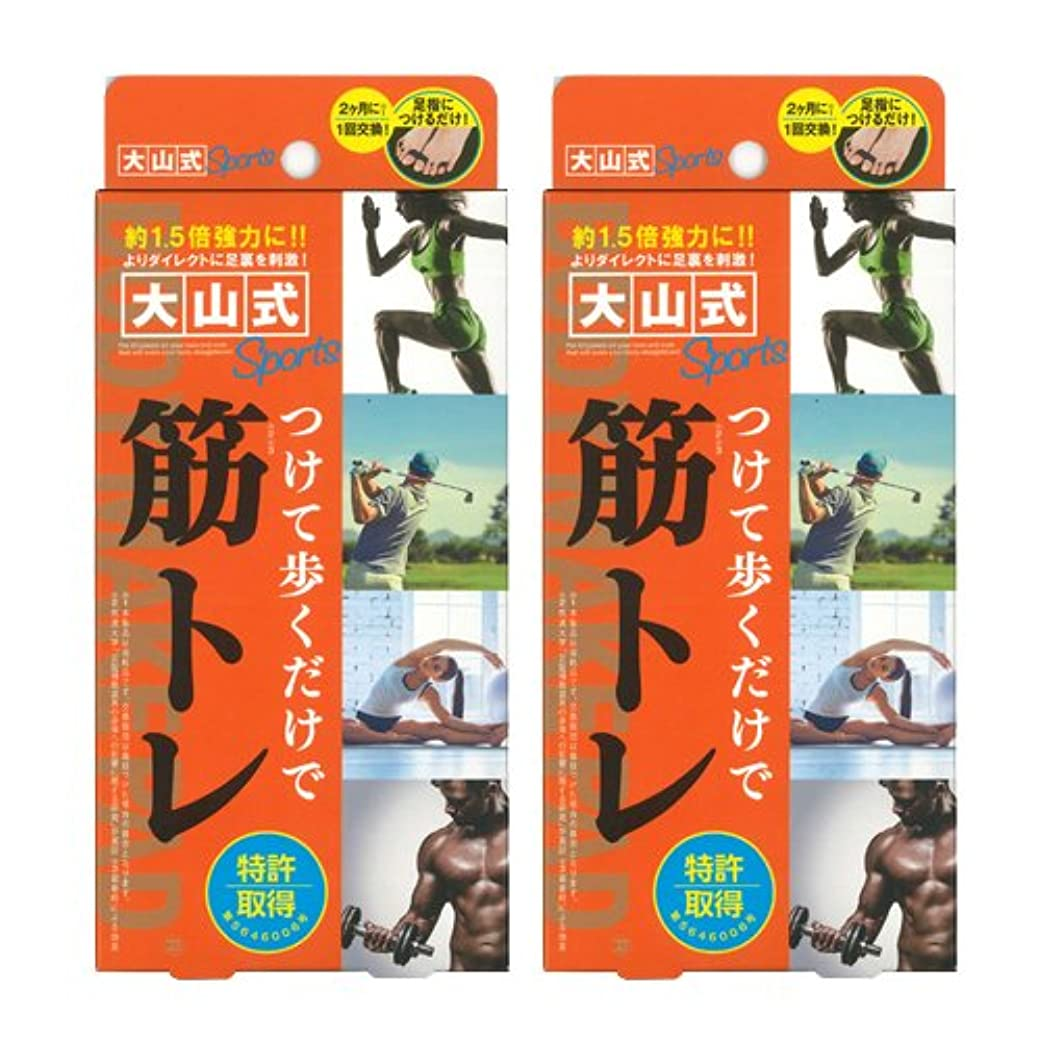 遺体安置所おもしろい愛情大山式ボディメイクパッド スポーツ ×2箱セット