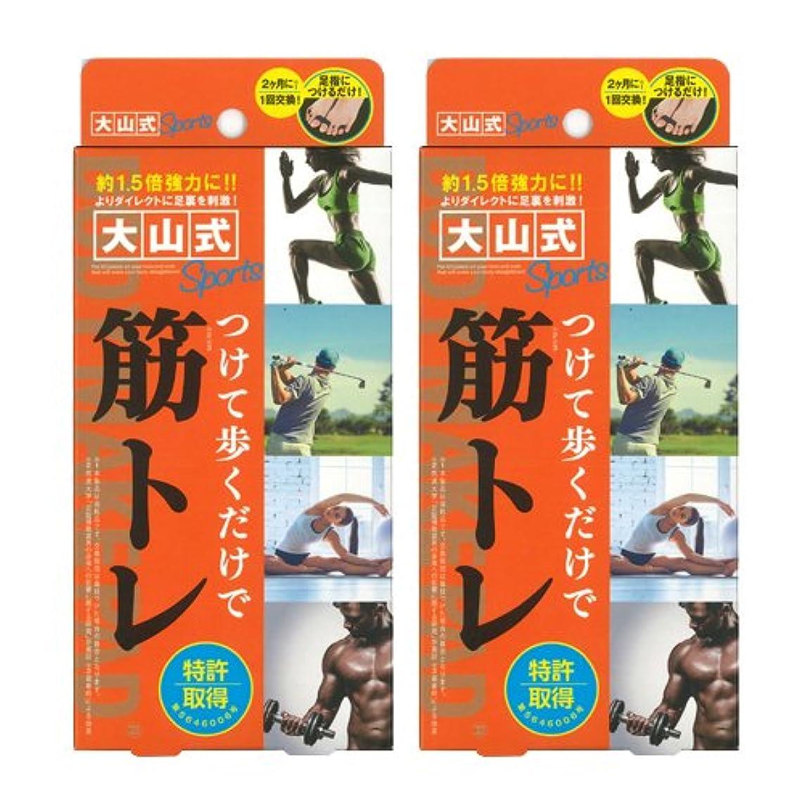 知覚チャレンジ朝食を食べる大山式ボディメイクパッド スポーツ ×2箱セット
