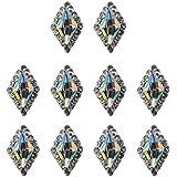 DYNWAVE ネイルパーツ ネイルアート シェル ラインストーン ネイル用ストーン キラキラ 全5種 10個入り - #1