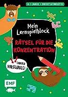 Endlich Vorschule! Mein Lernspielblock - Konzentrationsraetsel: Uebungen und Raetsel ab 5 Jahren