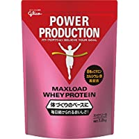 グリコ パワープロダクション マックスロード ホエイプロテイン ストロベリー味 1.0kg(使用目安50食分)
