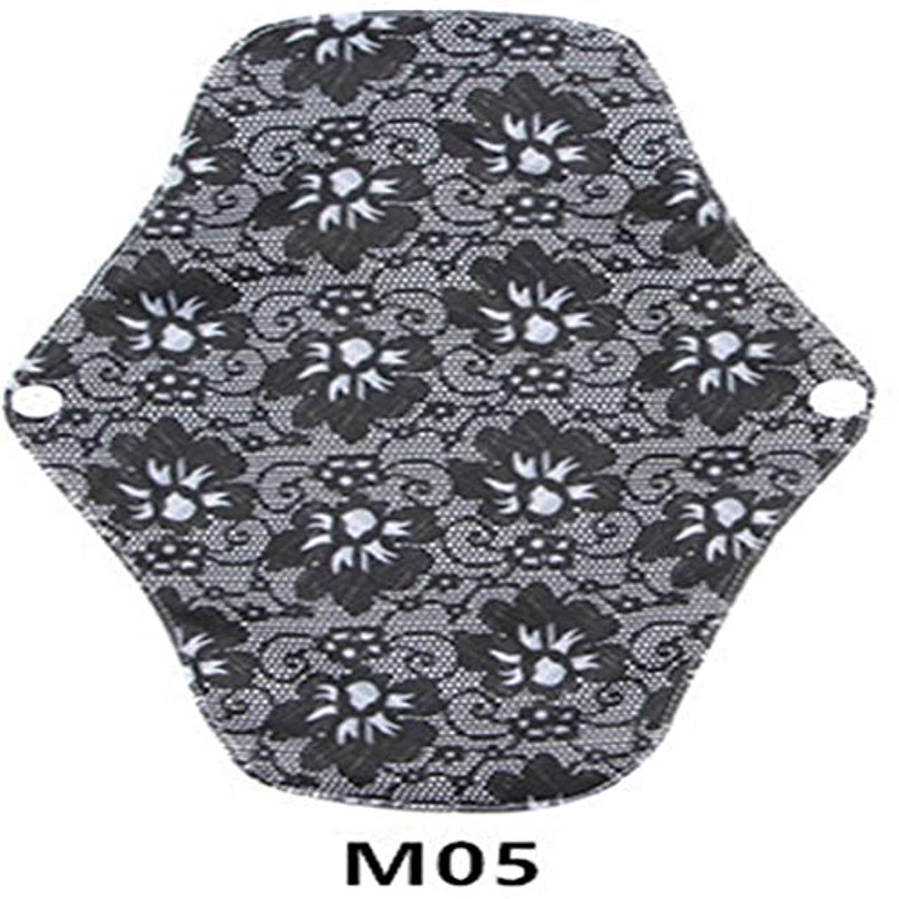 トムオードリースペスト行動Intercorey通気性竹炭洗える再利用可能な衛生パッド快適な月経パッド