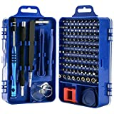 Rimposky 110 in 1 Screwdriver Set,Professional Multi-function Screwdriver Magnetic Repair Tool Kit Compatible with Cell Phone