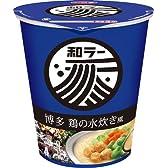 サッポロ一番 和ラー 博多 鶏の水炊き風 75gカップ×12個