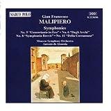 MALIPIERO: Symphonies Nos. 5, 6, 8 and 11 (2006-08-01)