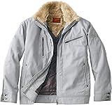自重堂 JAWIN 防寒ジャンパー 58100 シルバー LLサイズ