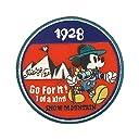 ディズニー ワッペン ミッキーマウス マウンテン APDS2727