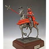 戦国武将像 真田幸村騎馬像 ポリストーン製・ヒストリカルフィギュア・人形・真田丸・お節句