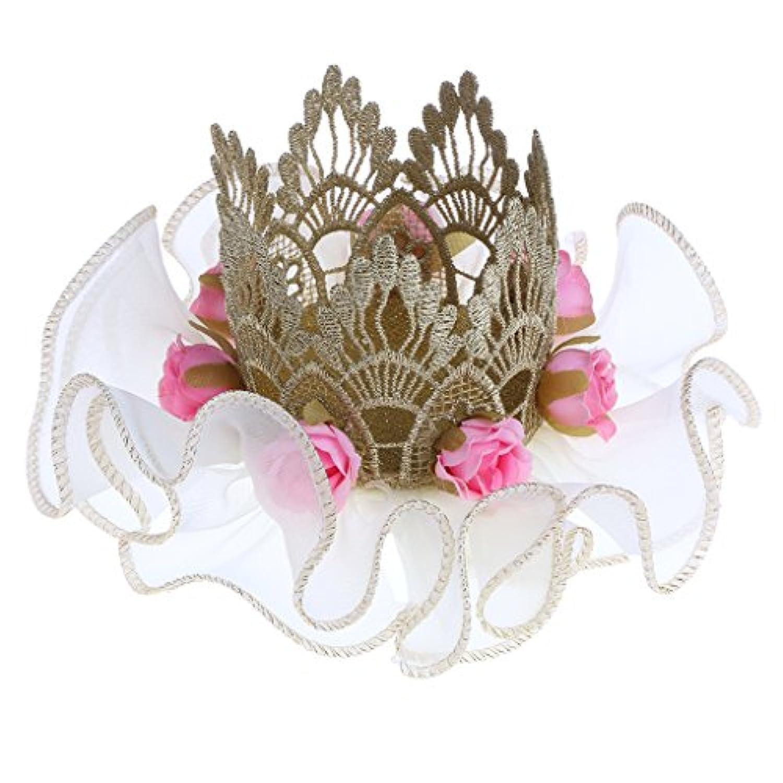 Blesiya 誕生日パーティー 王冠 ヘアアクセサリー  ベビー ガール 美しい ヘッドバンド 全2色