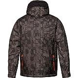 Quiksilver雪メンズMission 3N1印刷ジャケット US サイズ: S カラー: グレイ
