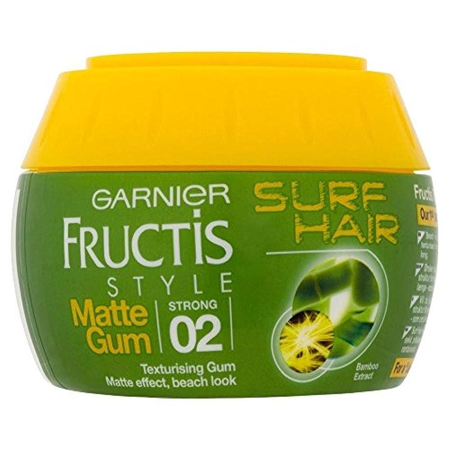 先楽観的契約[Garnier] ガルニエのFructisスタイルサーフヘアテクスチャーガム(150ミリリットル) - Garnier Fructis Style Surf Hair Texturising Gum (150ml) [...