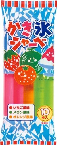 清水製菓 かき氷シャーベ 10本×15袋
