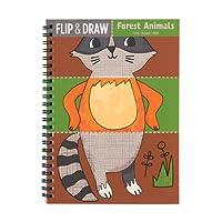 Mudpuppy Forest Animals Flip and Draw [並行輸入品]