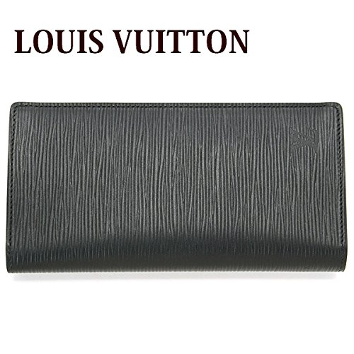 (ルイヴィトン) LOUIS VUITTON 長財布 エピ ポルトフォイユ・ブラザ ノワール M60622
