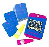 Talking Tables Kazoo カラオケ パーティーゲーム 音楽トリビアカード 家族で楽しめる 2人組