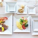8ピースセット 白い食器 グレコ カフェディナーセット 福袋 カフェスタイル モダン