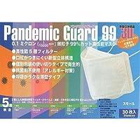 パンデミックガード99 PM2.5対応 高性能マスク 女性・子供向け 個包装30枚入