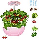 Hydroponics Growing System - Smart Indoor Garden Kit Height Adjustable Led Desklamp for Flower/Fruit/Vegetable, Self-Watering Natural Full Spectrum for Home/Room/Kitchen/Office