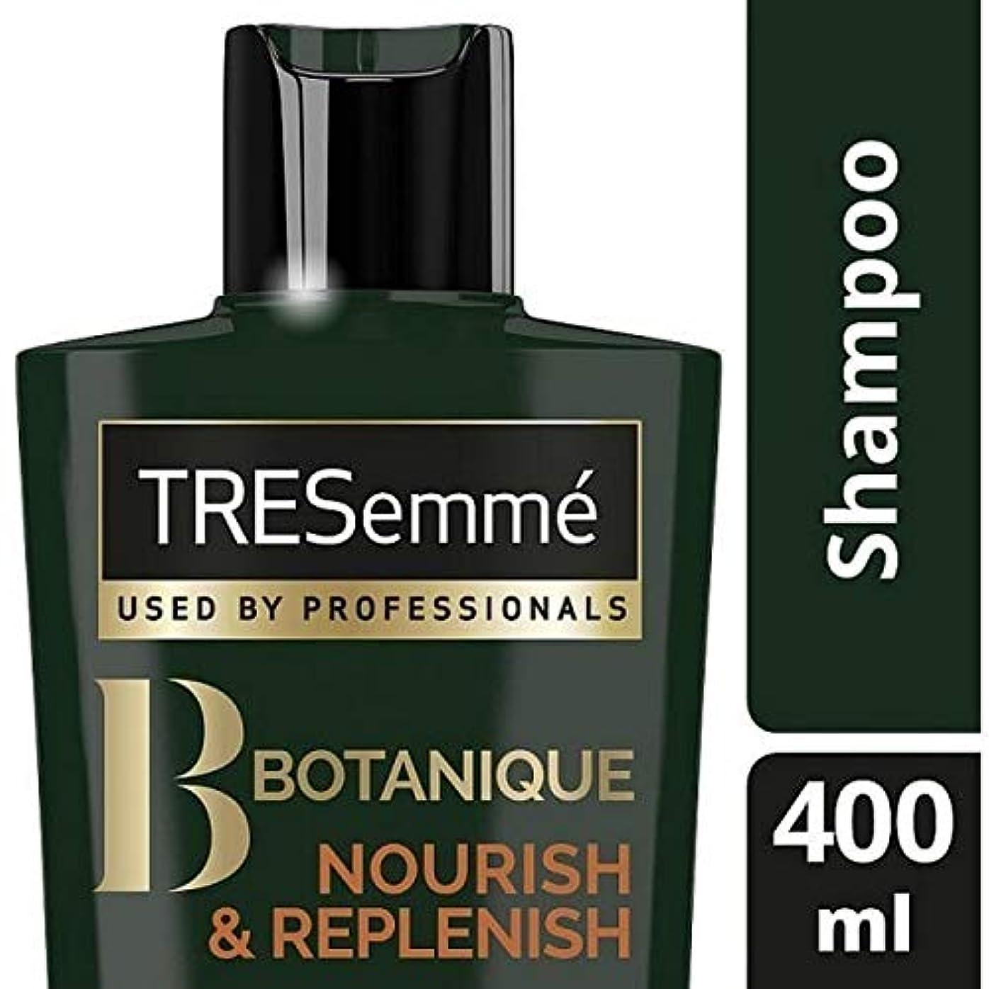 インフラ政治家の日付[Tresemme] Tresemmeのボタニックはシャンプー400ミリリットルを養う&補充します - TRESemme Botanique Nourish & Replenish Shampoo 400ml [並行輸入品]