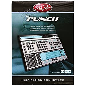 Rob Papenプラグイン ドラムシンセ/サンプラー音源 PUNCH (パンチ)